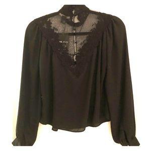 Beautiful lace top shirt